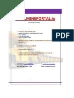 STUDY MATERIAL  FOR COAL INDIA EXAM