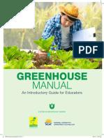 USBG-Greenhouse Manual