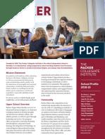 2018-19_The_Packer_Collegiate_Institute_School_Profile
