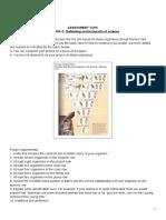 Criteria D assessment task classification