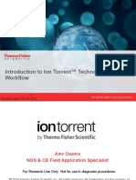 Introduction to Ion Torrent™ Technology & Workflow