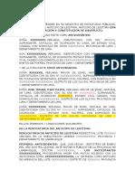ANTICIPO LEGITIMA CON EXCUSION DE COLACION Y USUFRUCTO