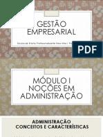 GESTÃO EMPRESARIAL mmod 1