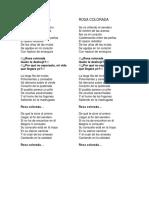 ROSA COLORADA (Texto)