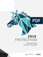 Top 100 Leading global Fintech report by KPMG