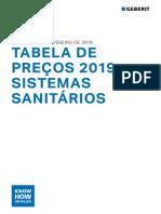 Geberit 2019 Sistemas sanitários - Tabela de preços.pdf