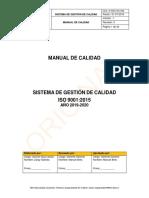 D SGC GC 006. Manual de Calidad
