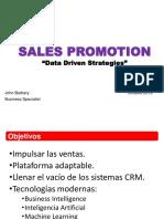 Sales Promotion concepto comercial Octubre 2019