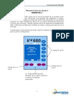Presentación Del Equipo Vx680 Wifi
