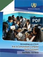 Guia Docente Comunicación y Lenguaje Idioma Extranjero 1ero.basico