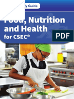 CSEC food and nutrition questions