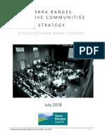 Creative Communities Draft Strategy