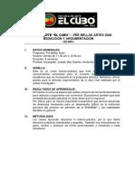 SÍLABUS REDACCION Y REDACCION 2020 básico