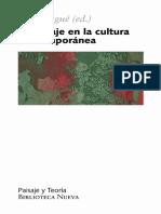2008. VV.AA. El paisaje en la cultura contemporánea