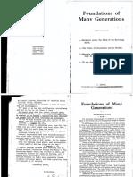 Foundations of Many Generations (E. Eschini)
