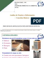 Análise de Tensões e Deformações 1 - Conceitos Gerais