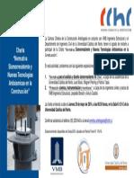 Invitación Charla Normativa Sismorresistente y Nuevas Tecnologías Antisísmicas en la Construcción