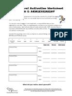 Depression Worksheet - 02 - Behavioural Activation.pdf