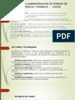 COMITÉ DE ADMINISTRACION DE FONDOS DE ASISTENCIA Y
