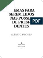 Alberto Pucheu - Poemas para serem lidos nas posses de presidentes