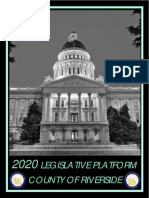 Riverside County 2020 Legislative Platform