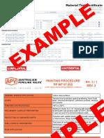 Sample-Valve-Material-Certificates