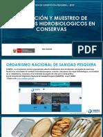 INSPECCIÓN Y MUESTREO DE PRODUCTOS HIDROBIOLOGICOS EN CONSERVAS
