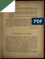 La personalidad y el Buddha - Jorge Luis Borges (1950)