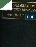 Basset, William Rupert, The Organization of Modern Business_1921