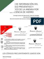REGISTRO DE ANEMIA - PPT REUNION 10 ENERO 2019 AMBO