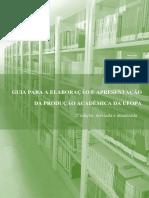 Guia Para a Elaboração e Apresentação Da Produção Acadêmica Da Ufopa