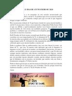 21 DIAS DE AYUNO