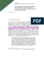 Fenomeni di interferenza nell'italiano da parto di ispanofoni