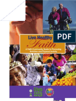 A Faith Based Community Toolkit for Promoting Nutrition and Physeical Activity