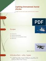 Akash Taru Das-Morphing Unmanned Aerial Vehicles - Copy.pptx