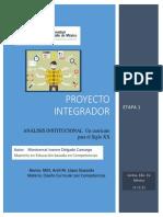 ANALISIS INSTITUCIONAL, EL CURRICULUM