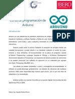 Curso de programación de Arduino