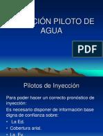 Inyección Piloto de Agua