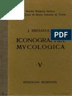 Bresadola, G. (1928) - Iconographia Mycologica. Vol. 05