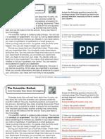 The Scientific Method _ 3rd Grade Reading Comprehension Worksheet (1)