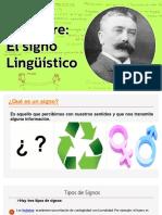 El signo Lingüístico N