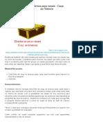 Dinâmica para casais - Caça ao Tesouro _ Ministério Enlace