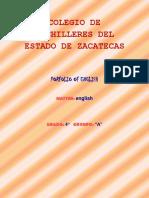 CUADERNILLO DE INGLES IV