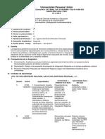 Sílabo propuesto de Comunicación e Integración Latinoamericana