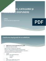curs 4 - sp.verzi categorii si dispunere I