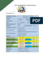 PLAN DE CAPACITACION INSTITUCIONAL