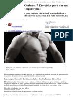 Exercícios para Ombros_ 7 Exercícios para dar um Up nos Ombros (hipertrofia) - Dietas - R7 Dicas de Treino
