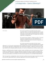 Músculo Agonista e Antagonista - Qual a Diferença_ - MundoBoaForma.com.br