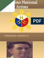 Filipino National Artists