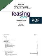 NET Core _ Xamarin Forms + Prism _ Xamarin Classic + MVVM Cross (Leasing).docx